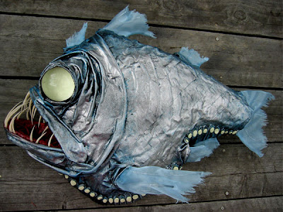 Well, that's a little better, I guess. But damn, that's an ugly fish.