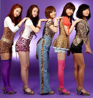 TOP FIVE MOST POPULAR KOREAN GIRL GROUPS