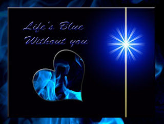 Blue Without You Missing You Ecard Missing you card Missing you on Valentine's Day Love greeting cards miss him ecard image