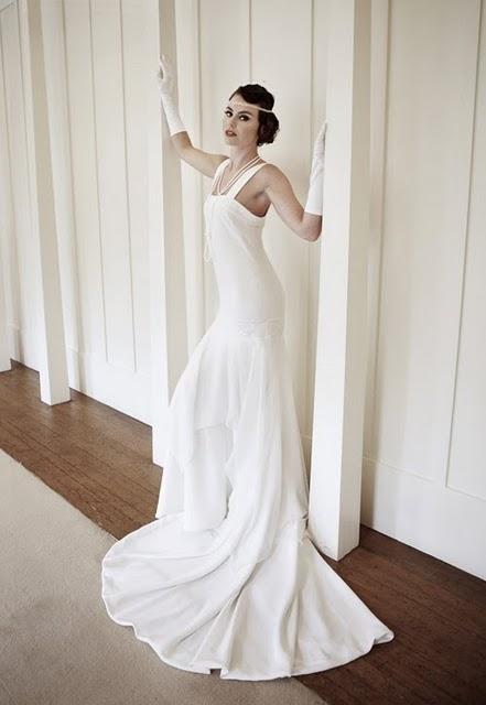Mariages r tro robes de mari es style ann es 20 30 - Robe vintage annee 20 ...