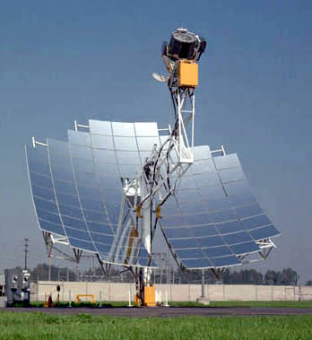 solar stirling Cuantos Watts Genera Un Panel Solar