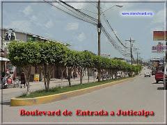 BOULEVARD DE ENTRADA A JUTICALPA