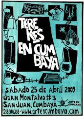 Afiche Terekes 2009