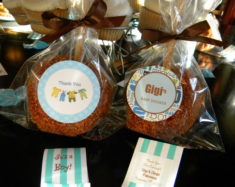 Candy Apple For Baby Shower Favors Images