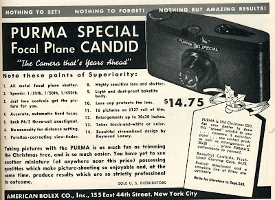 Purma Camera Advert.