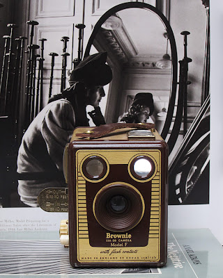 Kodak Brownie Box Camera. pHOTOGRAPH BY tIM iRVING