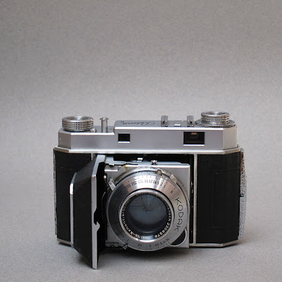 Kodak Retina II. Photograph by Tim Irving