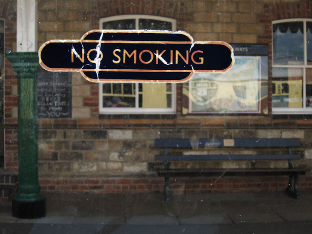 No Smoking. Photograph by Tim Irving