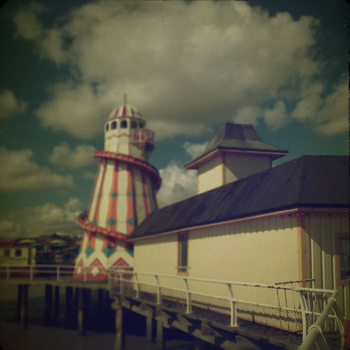 Clacton Pier. Photograph by Tim Irving