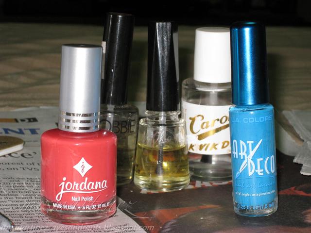 Nail Polish Lovin\': Jordana Nail Polish and L.A. Colors Art Deco ...