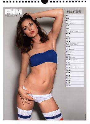 fhm calendar 2010 - 03