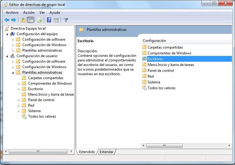 bloquear el fondo de escritorio en windows 7 post