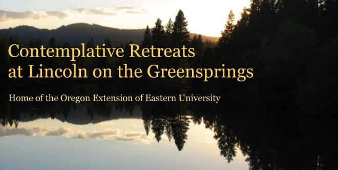 Contemplative Retreats at Lincoln on the Greensprings