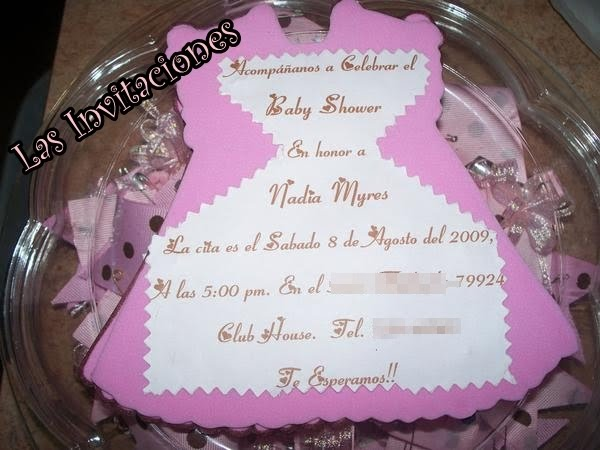    Invitaciones De Baby Shower Para NiaBaby Girl Invitations