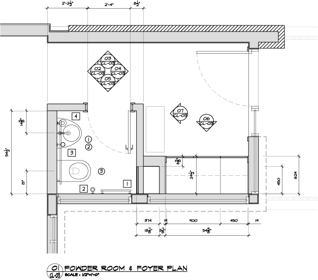 POWDER ROOM FLOOR PLANS Find House Plans