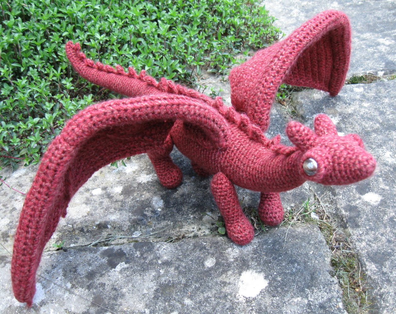 Knit Dragon Pattern : LucyRavenscar - Crochet Creatures: My patterns for sale on Etsy