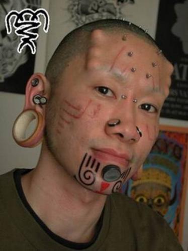 body piercing. Piercing Under Skin