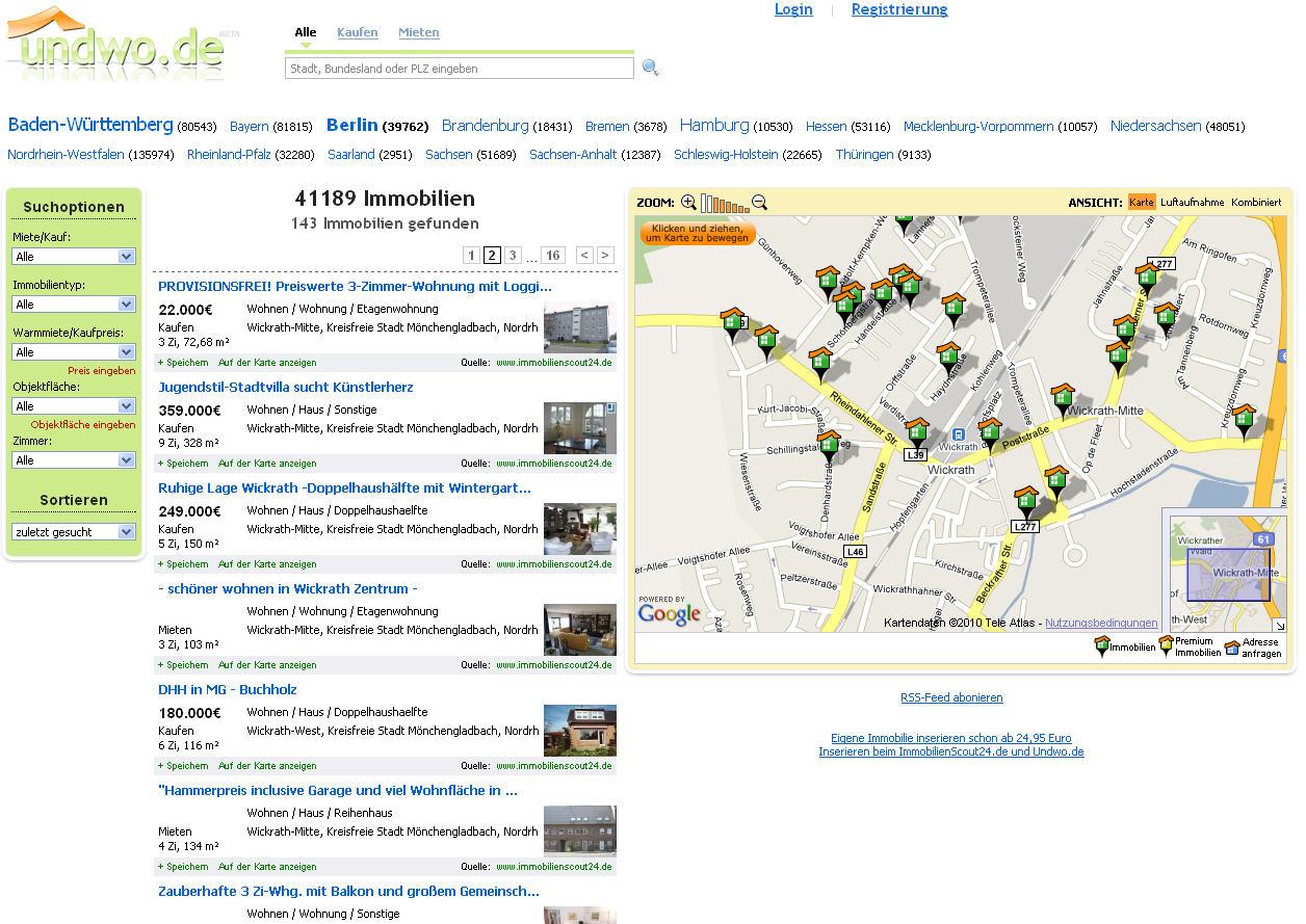 landkartenblog undwo sind freie immobilien in deutschland zu finden. Black Bedroom Furniture Sets. Home Design Ideas