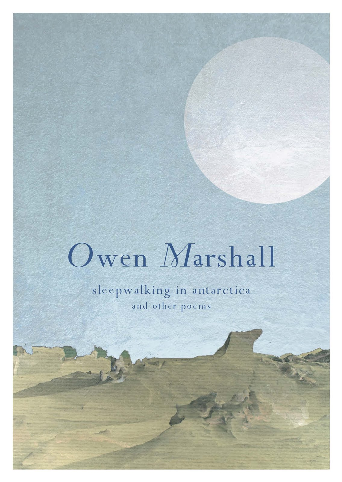 Owen Marshall is best known of course for his superb short stories, ...