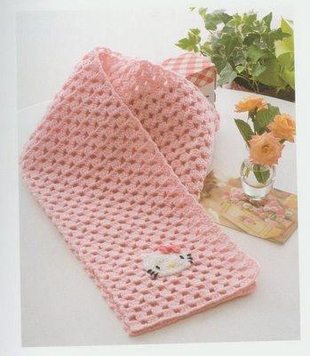 Patrones Bufandas Crochet