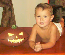 "Aiden turned ""3"" on HALLOWEEN"