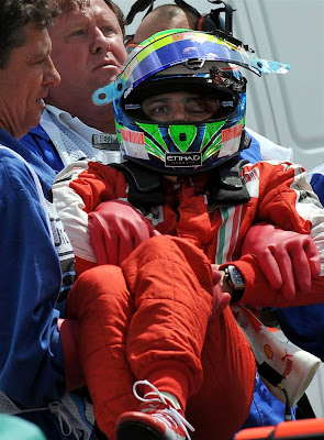 Brazilian Formula One driver Felipe Mass