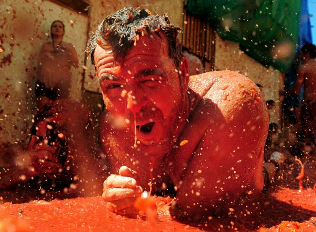 The Tomatina fotos
