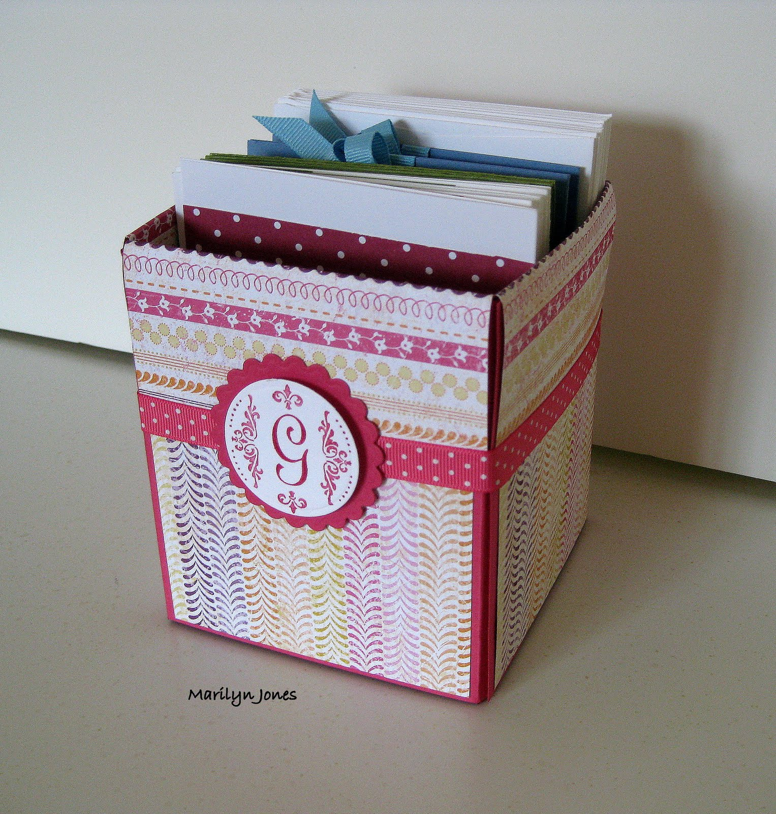 Paper dreams decorative gift box and cards