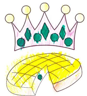 Coloriage de couronnes