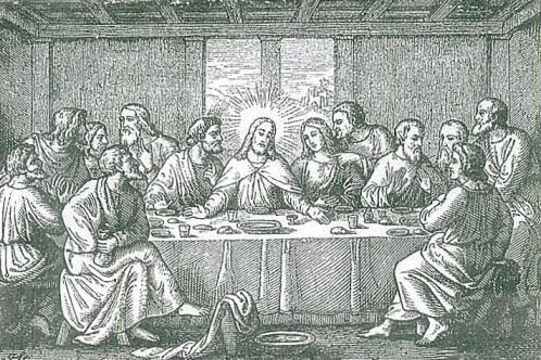 JESUS OF NAZARET  ESTABLIS OF THE SACRAMENT OF EUCHARIST