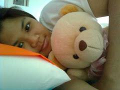 bersama teddy tercinta~