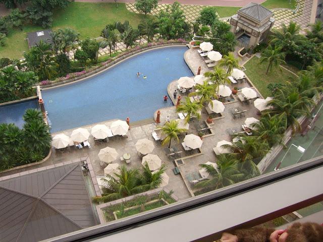Photo Library Database Mandarin Oriental Hotel Kuala Lumpur Swimming Pool Form The Top May