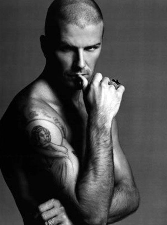 Celebrity Tattoo Ideas for Men - David Beckham Tattoos