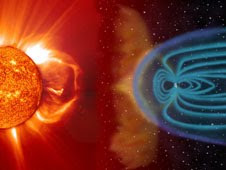 Solar storms unleash bursts of radiation that can reach crew and passengers on commercial flights at certain altitudes and latitudes.