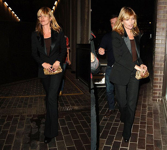 kate moss style blog. Just goes to show black will