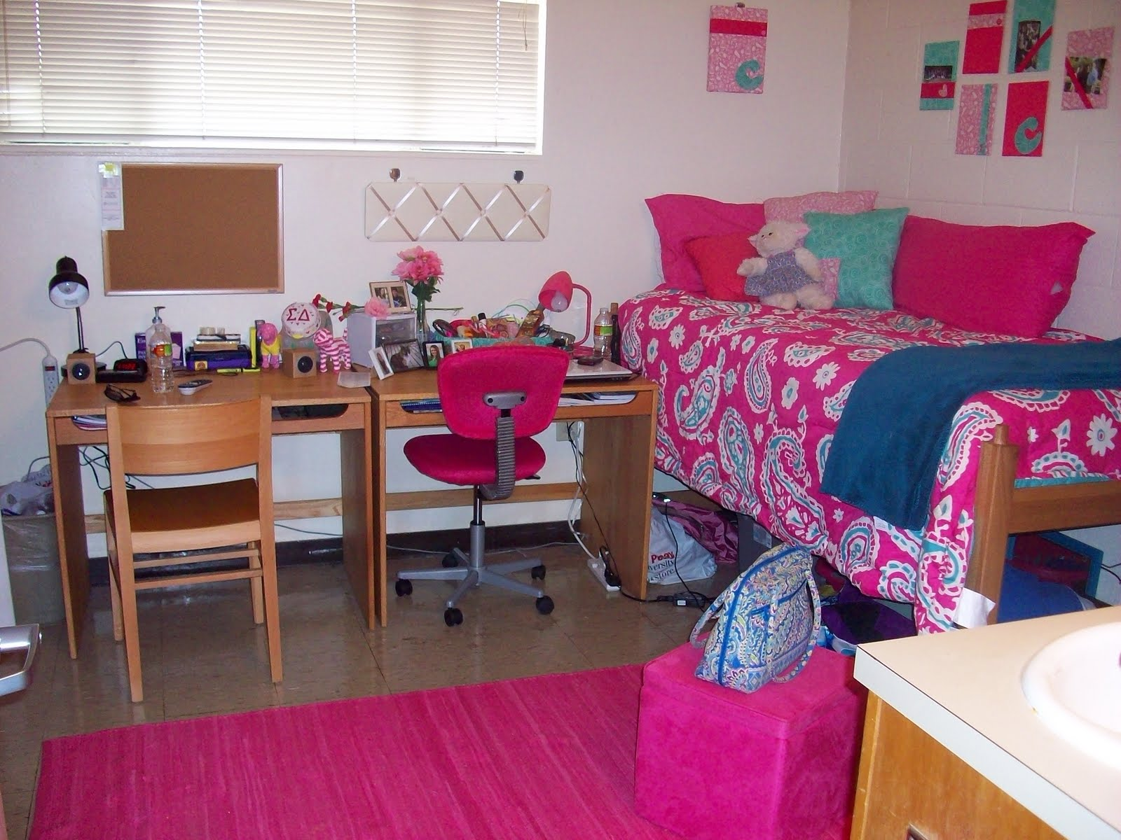 Peay pod the one where i catch up on almost 9 months for Hall room decoration ideas
