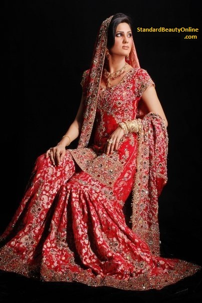 Indian Bridal Gharara Dresses 2011 Traditional