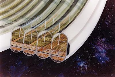 Space Colonies - Bernal Sphere
