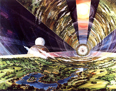 Space Colonies - O Neill Cylinder