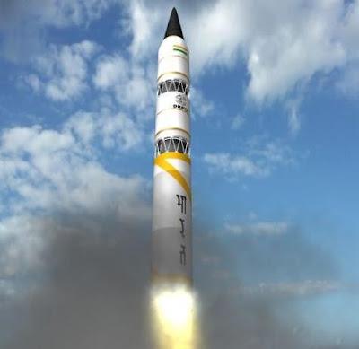 O ICBM- Agni V