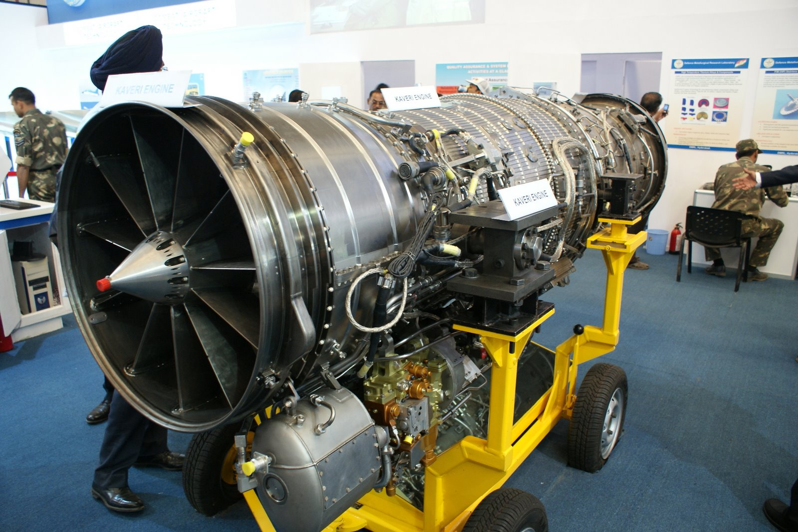 Índia desenvolverá uma nova versão do Turbofan Kaveri