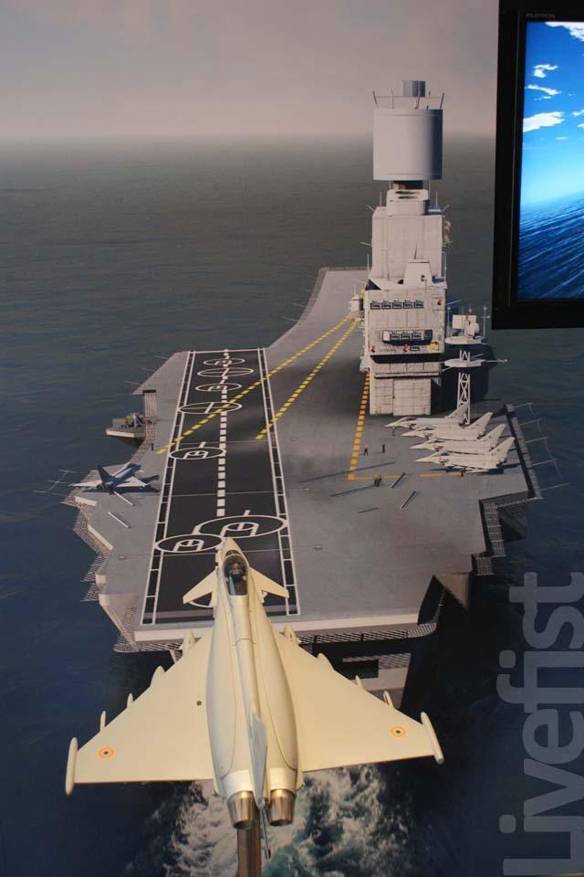aero india the naval eurofighter typhoon concept livefist