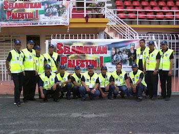 Persiapan Anggota KSBK Di Stadium Sultan Muhammad IV