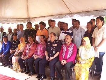 MAJLIS PENYAMPAIAN SIJIL PENGHARGAAN DARIPADA TELEKOM MALAYSIA & PDRM