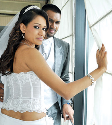 Chamara kapugedera wedding