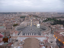 View from the top of Vatican City