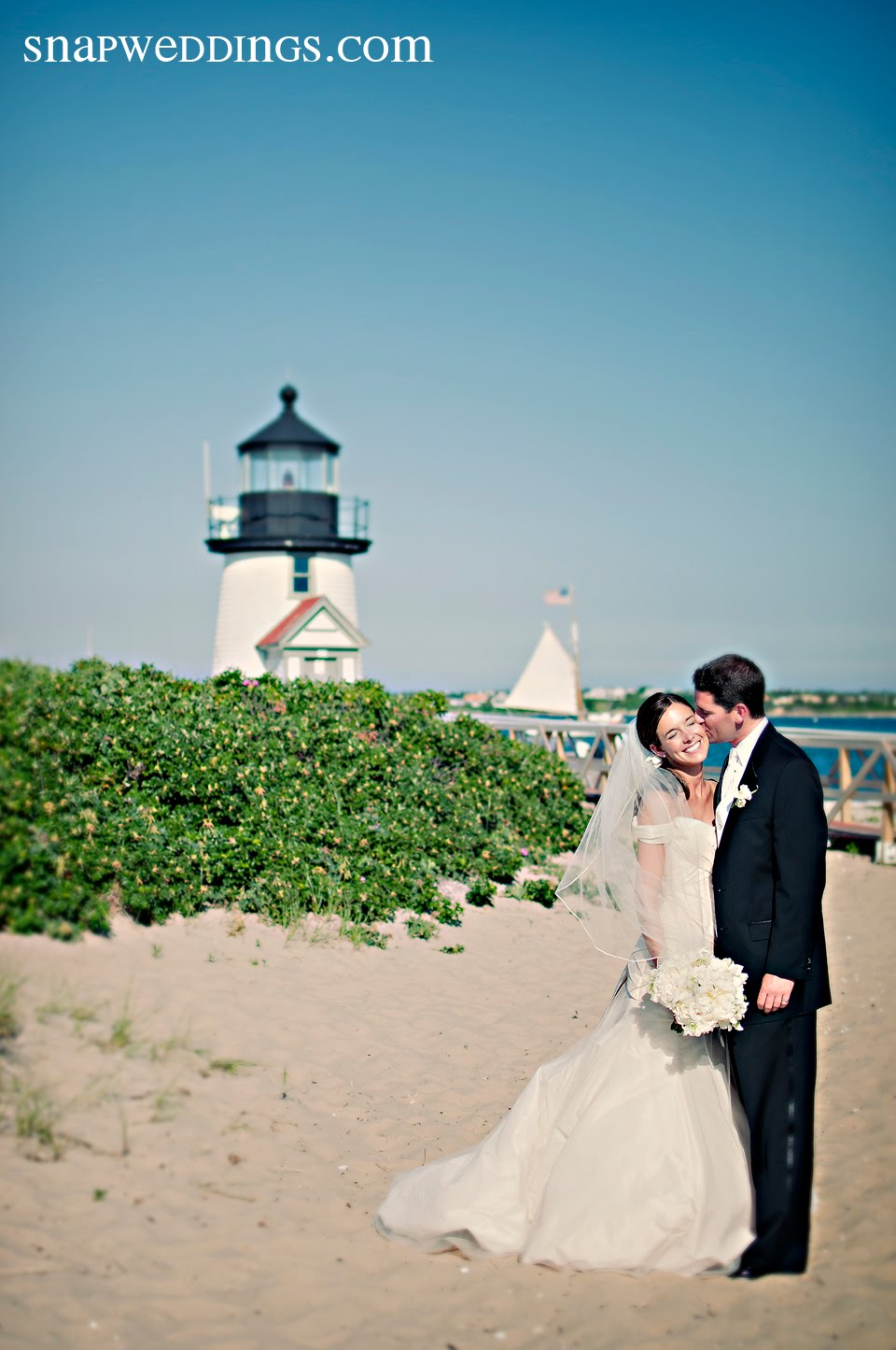 Erica + Ryan at Sankaty Beach Club on Nantucket Island, Part Two