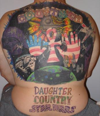 stupid tattoo. a picture of a dumb tattoo