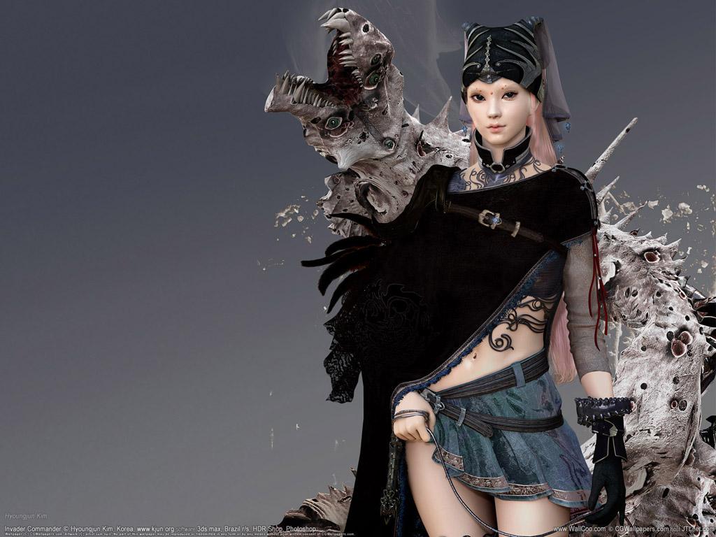 Cute and beautiful fantasy girls hd wallpapers pixhome - 3d girl wallpaper download ...