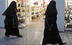 Jag bar niqab igår.